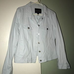 Pale blue denim type jacket